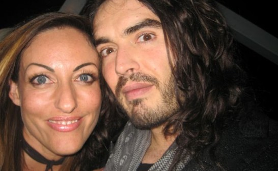 Lana and Russell Brand